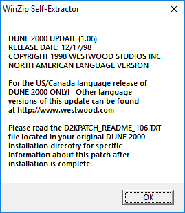 How to install Dune 2000 from CD and bring up-to-date - Dune